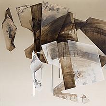 Anna Zalewska (b. 1985) Victory written in the circles of imagination, 2018, 120 x 120 cm