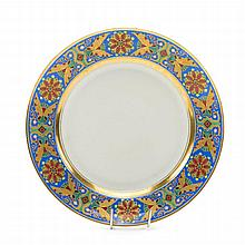 Plate, 1855-1881; Russian Imperial Porcelain Factory, Petersburg
