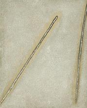 Stefan Gierowski (b. 1925) Composition, 1960s