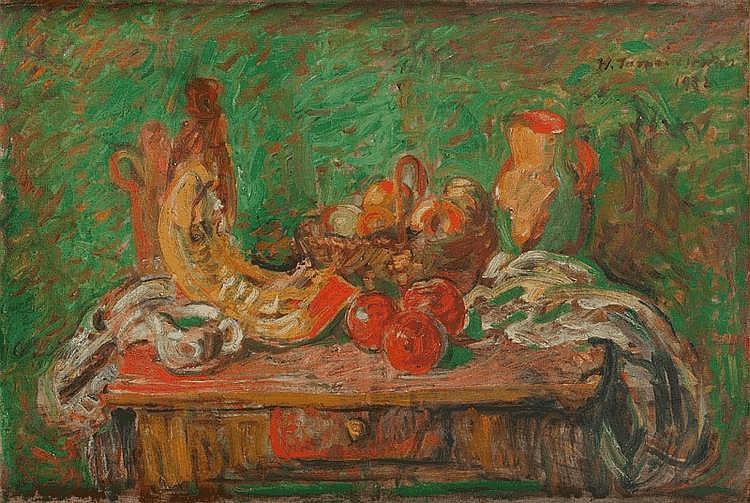 Wacław Taranczewski, Martwa natura z owocami, 1932 r.