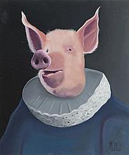 Tycjan Smialy (b. 1980) Baron Dirty Pig, 2016