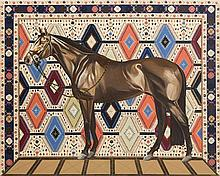 Ewa Dybek (b. 1987) The horse is what everyone sees, 2016