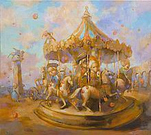 Olga Pelipas (b. 1988) Carousel, 2016