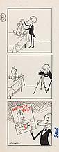 """Zbigniew Lengren (1919 - 2003) """"Filutek"""", picture story for the magazine """"Przekroj"""" no. 2806 (4 IV) 1999"""
