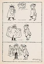 Zbigniew Lengren (1919 - 2003) Polish comic - picture story, 1981