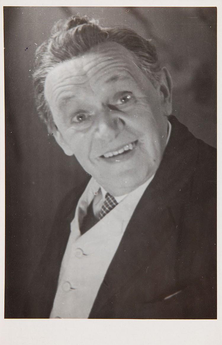 Eugeniusz Haneman (1917 - 2014) Portrait of Antoni Fertner, 1945