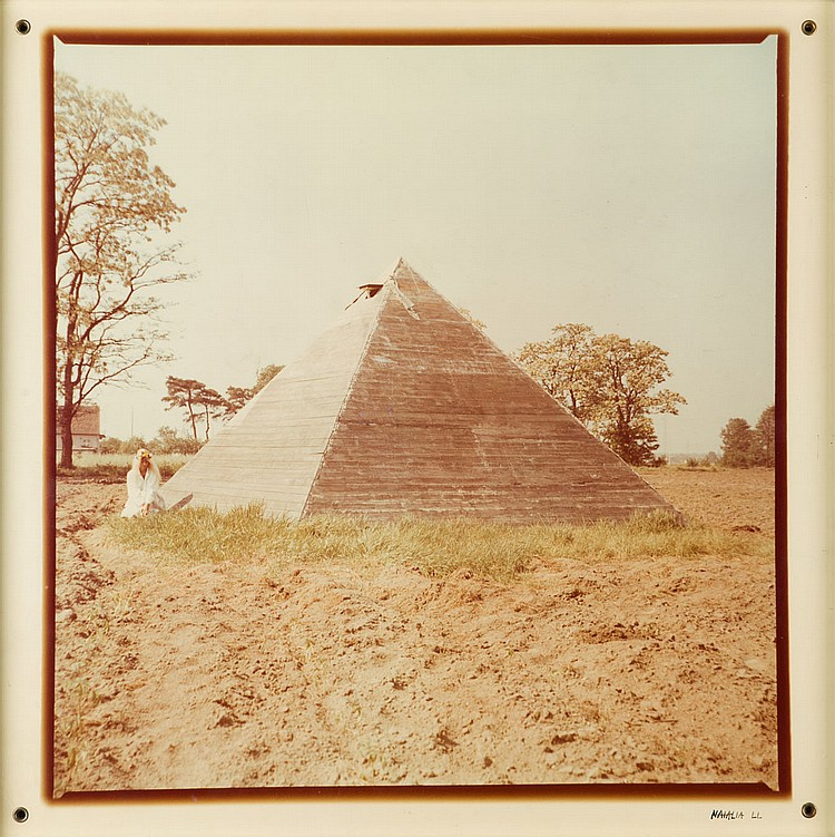 Natalia LL / Natalia Lach-Lachowicz (b. 1937) Pyramid, 1979