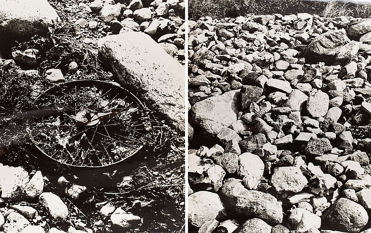 Andrzej Lachowicz (1939 - 2015) Structures - Nature', 1967 - diptych