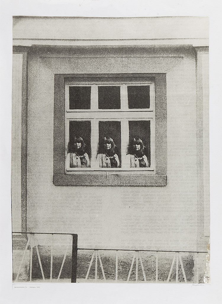 Maria Michalowska (b. 1925) From the series 'Self-portraits' 3, 1975