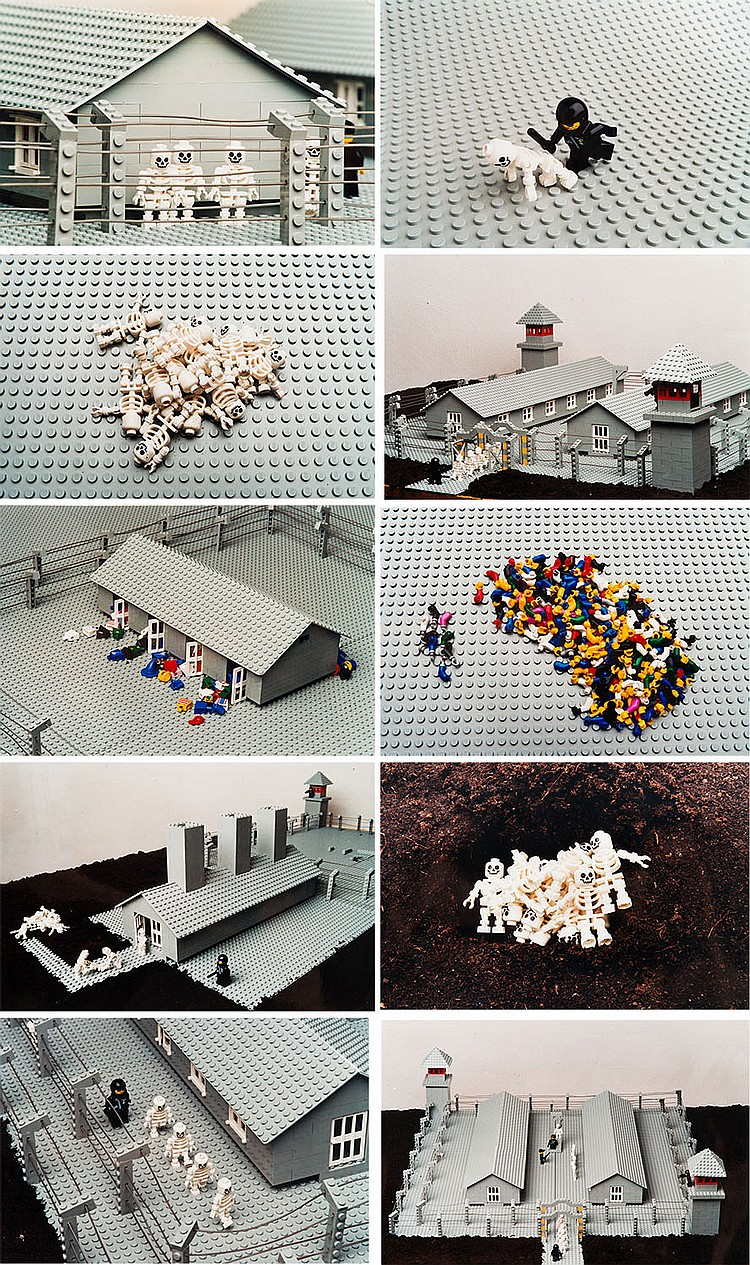 Zbigniew Libera (b. 1959) 'Lego. Concentration camp', the set of 11 photographs, 1996