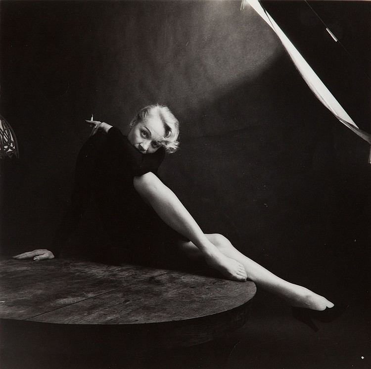 Milton H. Greene (1922 - 1985) Marlene Dietrich