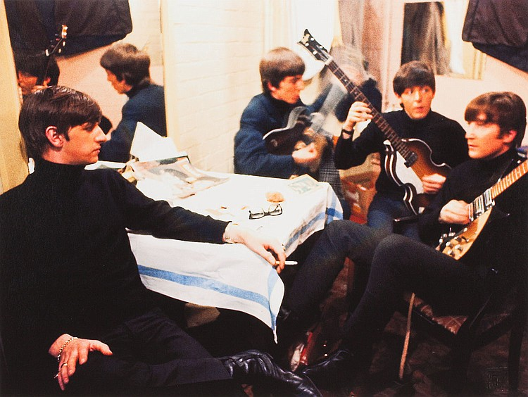 Shahrokh Hatami (b. 1928) The Beatles Liverpool, 1962
