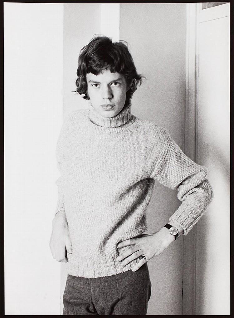 Henri Elwing (b. 1925) Mick Jagger