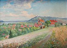 Wawrzyniec Chorembalski (1888 - 1965) View of Kazimierz Dolny