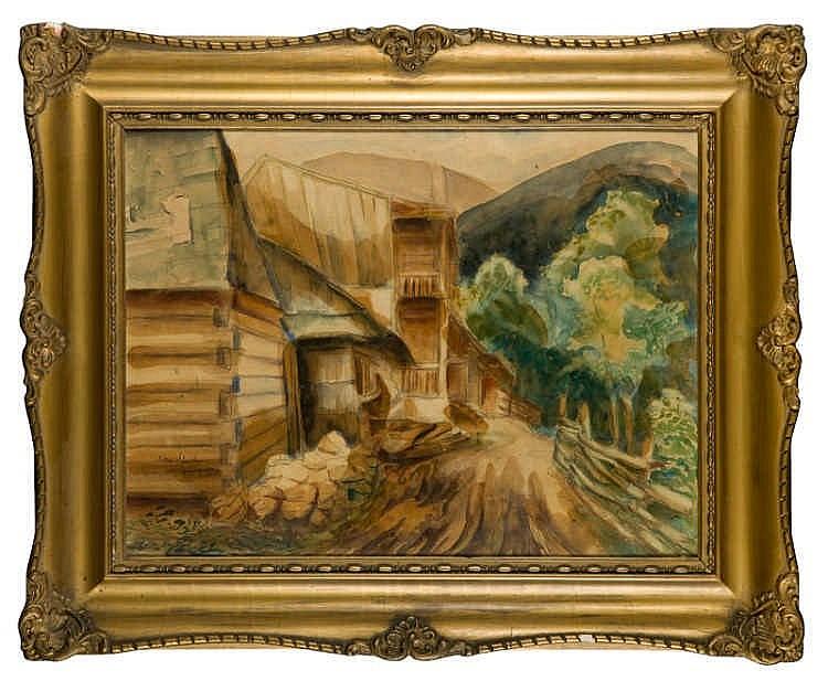 Nathan spiegel szpiegel 1890 1943 pieniny 1932 - Landscape spiegel ...