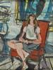 Zygmunt Jozef Menkes (1896 - 1986) Girl in an Armchair, Sigmund Joseph Menkes, PLN75,000