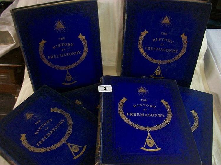 6 volumes entitled ''The History of Freemasonry''