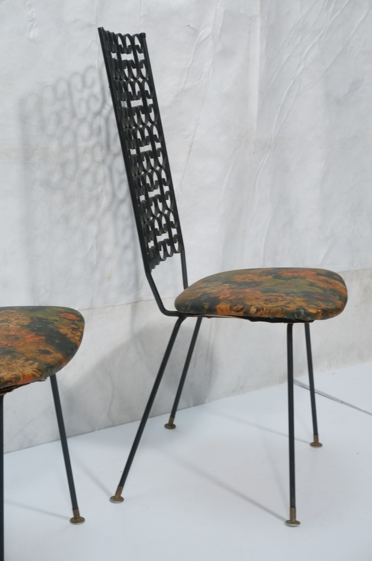 SET 4 ARTHUR UMANOFF TALL BACK METAL DINING CHAIR : H2491 L129553371 from www.invaluable.com size 730 x 1100 jpeg 166kB