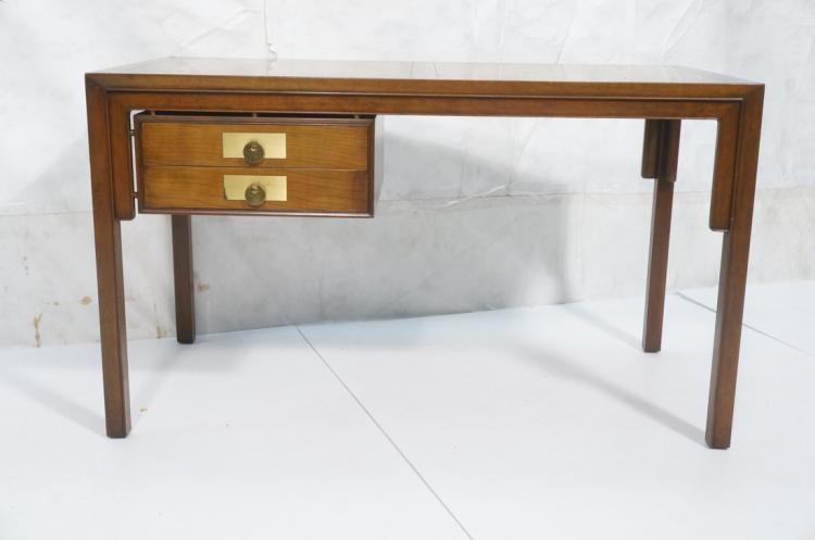 Baker modern asian style desk panel top decorati for Oriental style desk