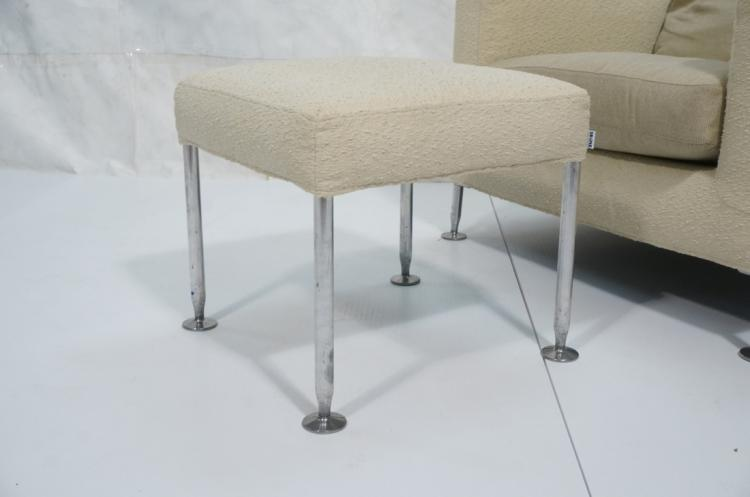B B Italia Modern Lounge Chair Ottoman Harry M