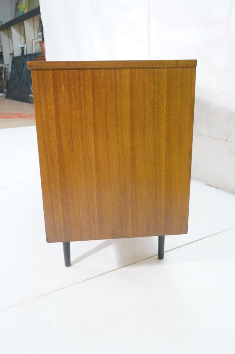 American modern walnut 9 drawer credenza dresser for American walnut bedroom furniture uk