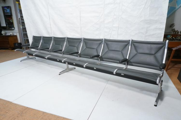 Charles Eames Herman Miller Airport Seating Bench