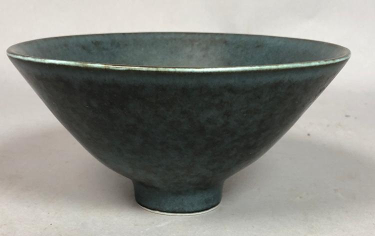 Rorstrand By Carl Harry Stalhane Pottery Bowl Sw