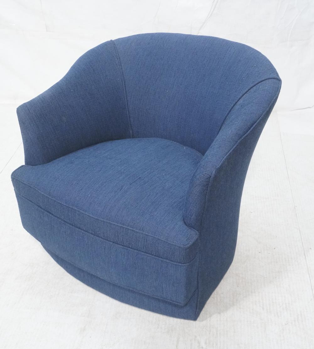 fabric swivel club chairs modernist blue fabric swivel lounge chair slight 15197 | H2491 L146429852