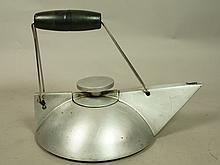 ANTHONY PARFITT Kinetic Teapots. Modernist Metal