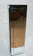Tall Beveled Mirror Pedestal. Tall Square Pedesta