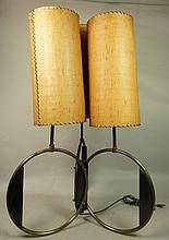 MAJESTIC Retro 50s American Modern Table Lamp. 3