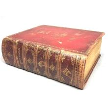 1814 HOLY BIBLE, NEW YORK, PUBLISHED BY COLLINS,