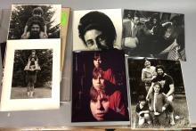 10PC NAOMI SAVAGE LOT OF PHOTOGRAPHS. PHOTOS OF S
