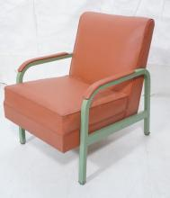 NORMAN BEL GEDDES FOR SIMMONS LOUNGE CHAIR.