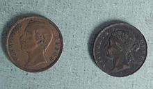 2 High Grade Rare Coins, Malaysia & North Boreno