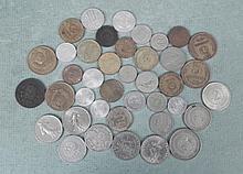 Lot 40 European Coins England, Spain, Italy...1882-1967