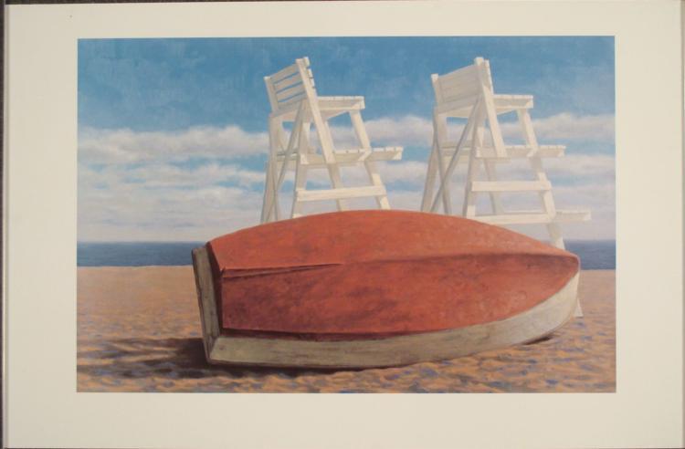 Joseph Reboli : Short Beach Lookout Seaside Art Print