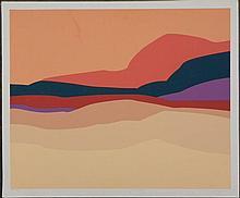 Doug Danz Signed Desert Landscape Proof Print Strata B