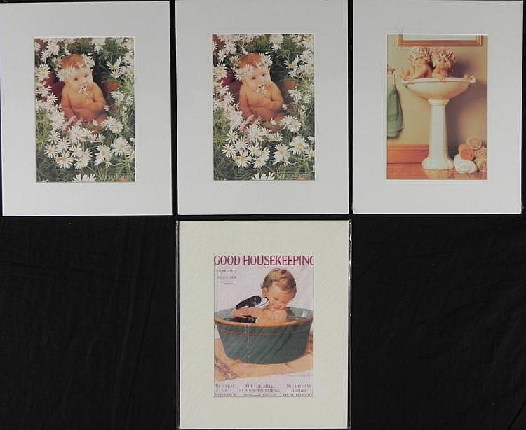 4 Cute Baby Prints Anne Geddes, Good Housekeeping Cover