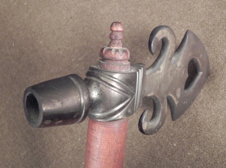 Native American Indian Tomahawk Pipe 18 In , Replica