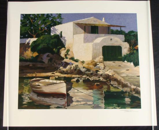 Poch Romeu Signed Art Print Rincon de Biniancolla