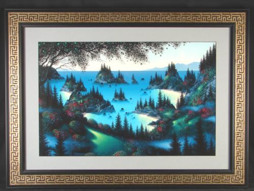 Fantasy Landscape Rattenbury SEA OF DREAMS Art Framed