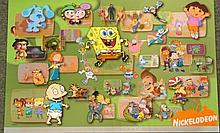 NICKELODEON 25th ANNIVERSARY Litho Cel LE Cartoon Art