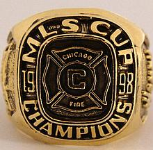 1998 Chicago Fire MLS Replica Championship Ring