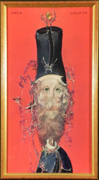 Endre Szasz Art Print Omar Khayyam The Poet -Framed