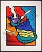 S/N Burton Morris Pop Art Print AFTERNOON DELIGHT, Burton Morris, Click for value