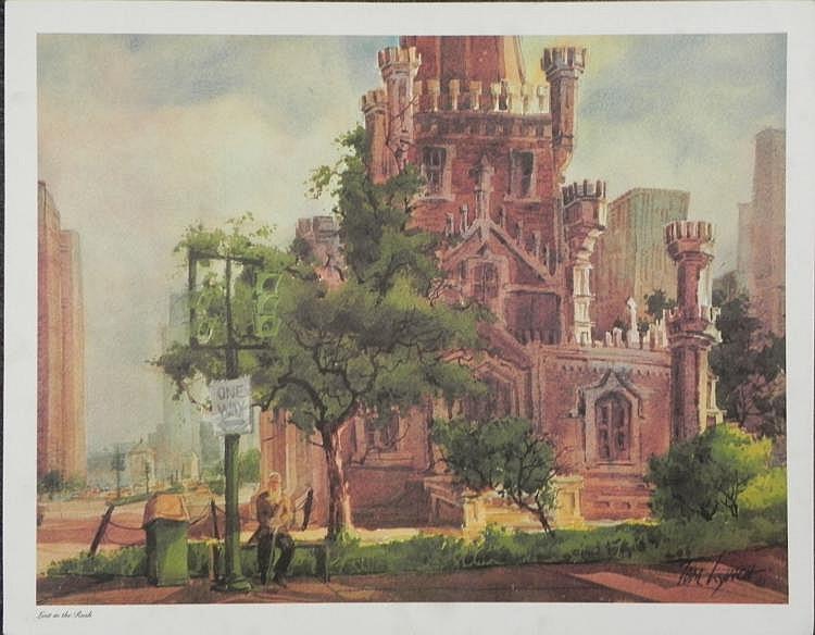 Tom Lynch Lost in the Rush Art Print