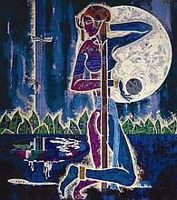 Lu Hong SPLENDOR Yunnan School Chinese Art Print