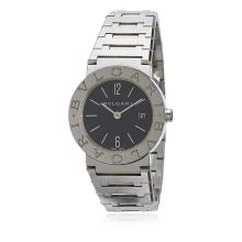 Bvlgari - Diagono Stainless Steel Watch