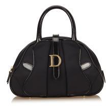 Dior - Nylon Double Saddle Dome Bag